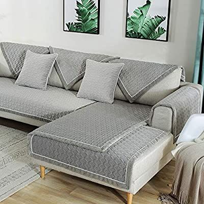 Amazon Com Tewene Sofa Cover Velvet Couch Cover Anti Slip