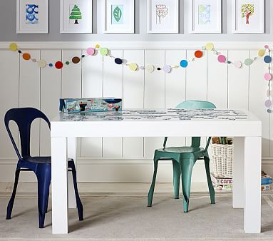 Parsons Large Play Table #pbkids Love The Navy Blue And Teal Blue Combo For  A Boy And Girl Play Room | Fun Kid Stuff | Pinterest | Play Table,  Playrooms And ...