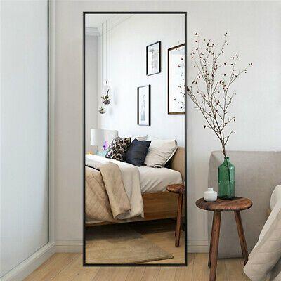 Full Length Mirror Bedroom Floor Mirror Standing Hanging Large Wall Mirror Ebay Living Room Mirrors Full Length Floor Mirror Floor Mirror