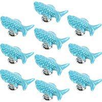 Yahead 10PCS ceramica carino a forma di pesce design-pomello ...