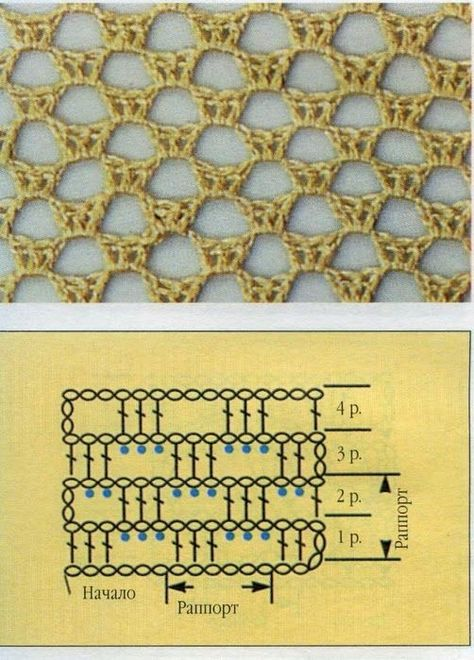 решите узор сетка крючком схемы фото вид