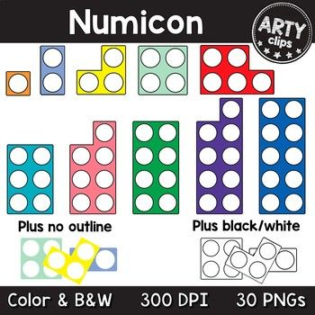 30 Pngs Numicon Number Frames 1 10 Clipart Personal Commercial Use 300 Dpi To Ensure Crisp High Quality Printingincludes 10x C Numicon Clip Art Arty