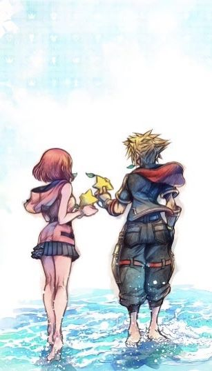 Kingdom Hearts 3 Sora And Kairi In 2020 Kingdom Hearts Wallpaper Kingdom Hearts Fanart Kingdom Hearts Funny