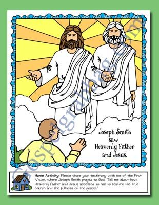 heavenly father and jesus appeared to
