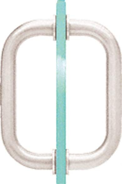 C R Laurence Sdpr6pn Crl Polished Nickel 6 Tubular Back To Back 3 4 Diameter Shower Door Pull Handles Review Shower Doors Door Pull Handles Door Pulls