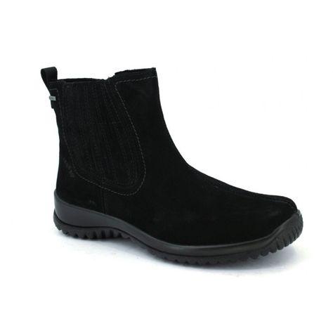 Legero 577 Botines Gore-Tex Casual Mujer Negro, calzado urbano con una  membrana interna de Gore-Tex que nos garantiza la impermeabilidad y  transpir…