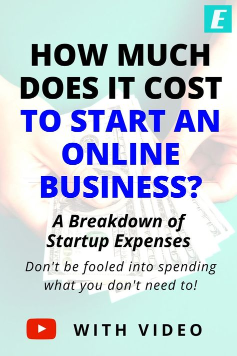 How Much Does it Cost to Start an Online Business? A Breakdown of Expenses