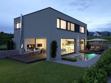 Moderne häuser grundriss mit pool  Im Westen was Neues | Moderne einfamilienhäuser, Stockhausen und ...