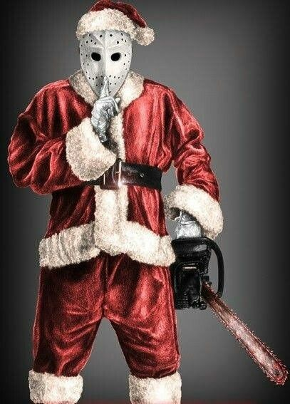 Pin By Nd R C L Ndt On Holidaze Funny Horror Scary Christmas Creepy Christmas