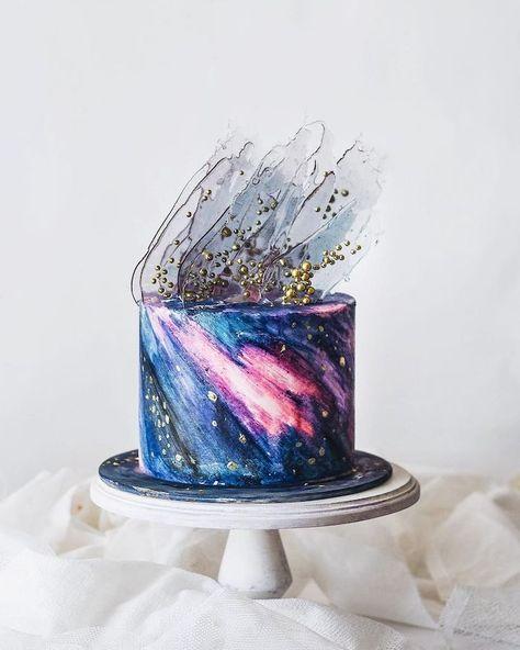 ▷ 1001 + idées insolites pour réussir le design gâteau galaxie