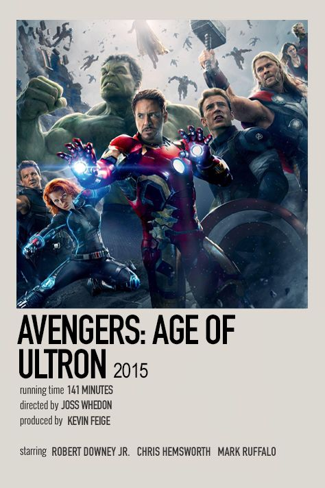 Avengers: Age of Ultron by Jessi