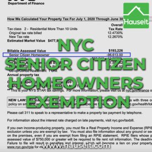 What Is The Nyc Senior Citizen Homeowners Exemption Sche Property Tax Senior Citizen Nyc