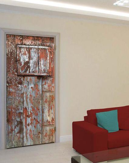 Door makeover with dc fix | dc fix | Pinterest | Door makeover Doors and Vinyl tablecloth & Door makeover with dc fix | dc fix | Pinterest | Door makeover ... pezcame.com