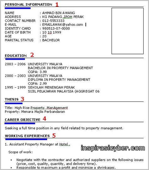 Resume Kerja MOHD MAHATHIR BIN SEPANDI Pinterest - farm manager resume