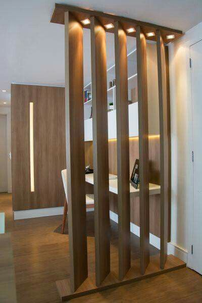 Room Divider Between Adult Snug Area And Main Living Space