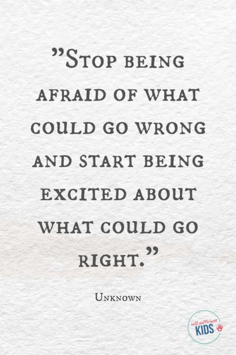 """""""Stop being afraid of what could go wrong and start being excited about what could go right."""" - Unknown These growth mindset quotes will inspire both you and your kids to work hard not give up and to view challenges and failures as opportunities. Wisdom Quotes, Quotes To Live By, Me Quotes, Motivational Quotes, Funny Quotes, Inspirational Quotes, Bible Quotes, Hard Work Quotes, Great Quotes"""