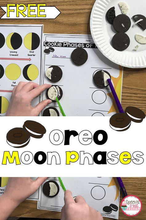 Oreo Moon Phases Activity - Special Treat Friday