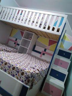 غرفة نوم سرير بدورين Bunk Bed Teenage Bedroom Bed Bunk Beds Bunk Bed With Desk