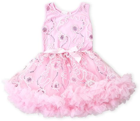 634ef2104 Popatu (Toddler Girls) Floral Sequin Tank Tutu Dress  #overlayBow#sequin#embroidered