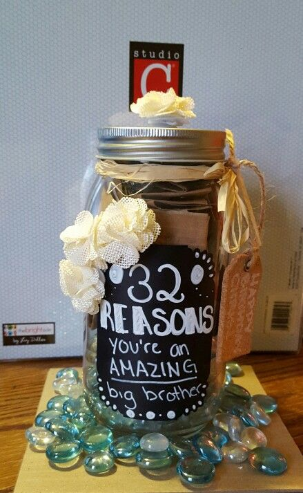 Cute Birthday Gift For A Big Brother Cute Birthday Gift Diy Birthday Gifts Birthday Gifts For Brother