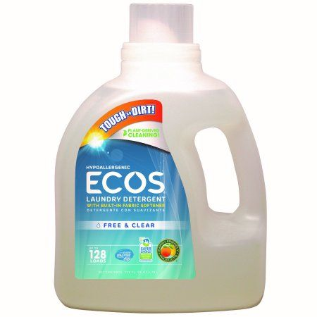 Ecos Liquid Laundry Detergent Free Clear 128 Oz Ecos Laundry Detergent Laundry Detergent Laundry Liquid