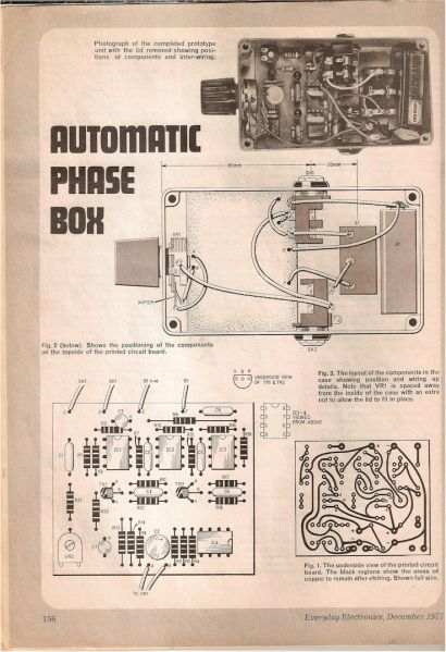 DIY Vintage Phaser Pedal 1977 build you own | Diy guitar