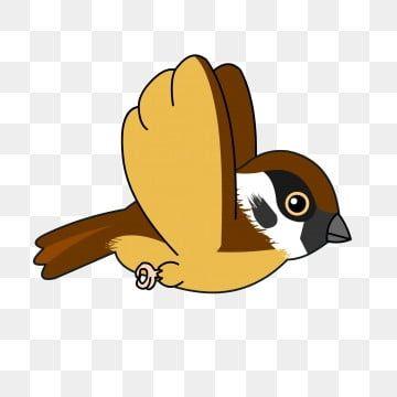 عصفور الكرتون الطيور الطيور تحلق الطيور المرسومة الطيور والزهور الطائر الطائر Png والمتجهات للتحميل مجانا Bird Clipart Flying Bird Silhouette Cartoon Birds