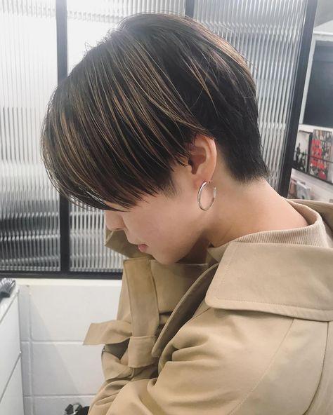 Heavens Hair Hosoiyutaka ウルフ ダブルカラー ブリーチ