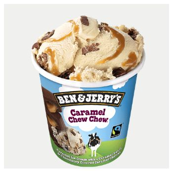 Calories In Ben Jerry S Caramel Chew Chew There Are 120