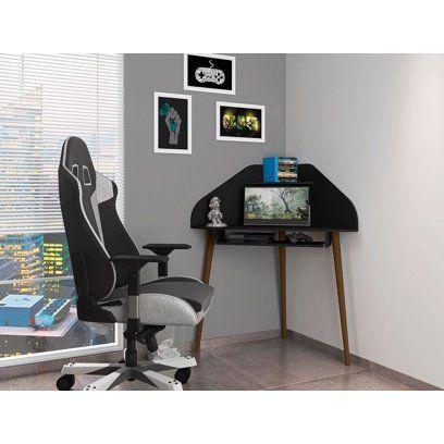 Black Corner Desk Walmart Com In 2020 Black Corner Desk Floating Desk Floating Corner Desk