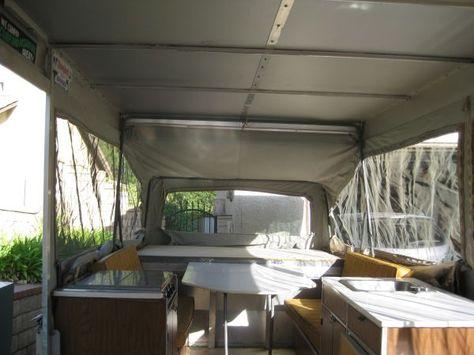 Apache pop-up trailer Santa clarita $600   Outdoor bed ...