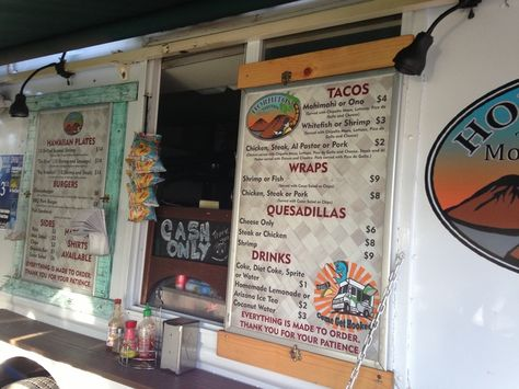 Don't miss the fish tacos at Horhito's taco truck in Kihei!