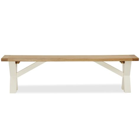 Dunelm Wilby Cream Cross Bench Furniture Home Decor Furniture Furniture Collection