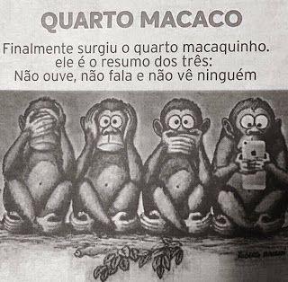 A Clássica História Dos Três Macacos Sábios Do Santuário