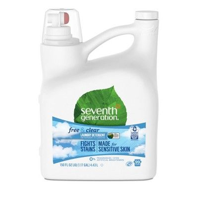 Seventh Generation Free Clear Natural Liquid Laundry Detergent