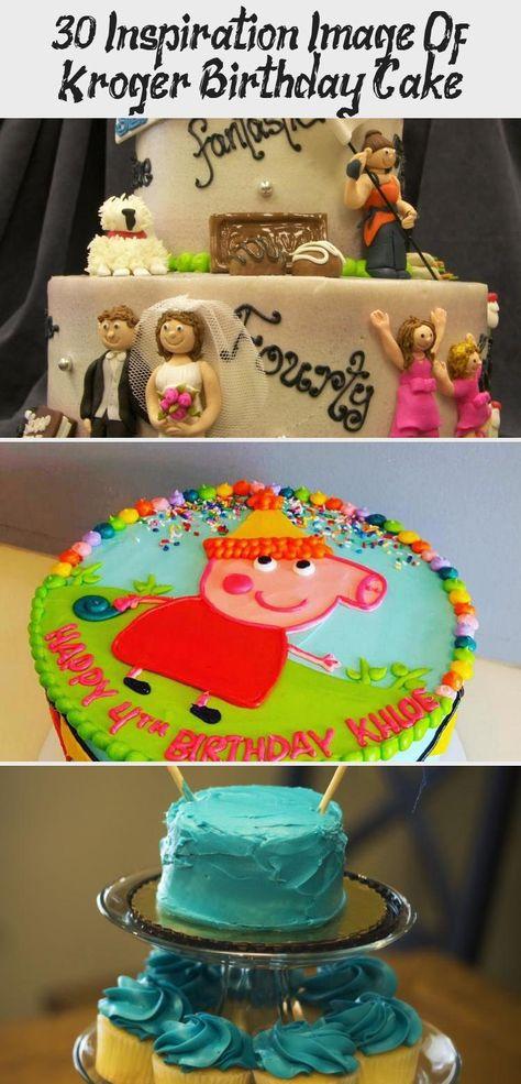 Magnificent 30 Inspiration Image Of Kroger Birthday Cake Pig Birthday Cakes Personalised Birthday Cards Veneteletsinfo