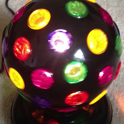 Reef's disco ball so fun for kids rooms.