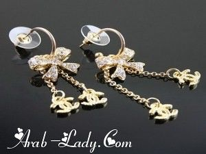 صور اقراط جميلة من شانيل اجمل وحلى صور رائعة جدا Women S Earrings Chanel Earrings Jewelry