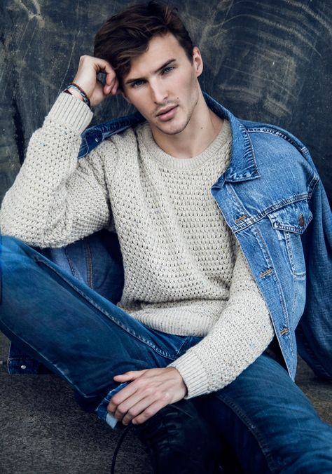 Styled with a relaxed nautical charm, model Dawid Schaffranke poses for new photos by photographer Nadia von Scotti. For the cheeky series, Dawid is captured in…