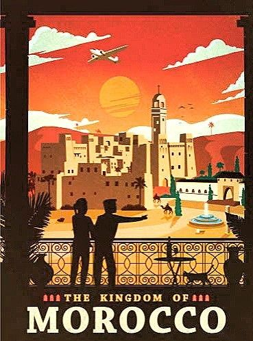 1960s New Orleans Classic Travel Poster 18x24