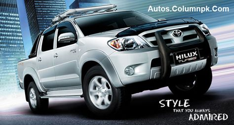 Toyota Launched Hilux Turbo 2013 Price In Pakistan Pictures Specs Review Turbo 2013 Turbo Toyota Hilux