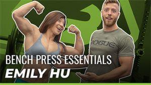 World Record Holder Emily Hu S Favorite Bench Press Tips Video Barbend Bench Press World Records Record Holder
