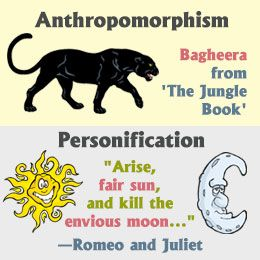 image result for personification vs anthropomorphism examples  image result for personification vs anthropomorphism examples personification