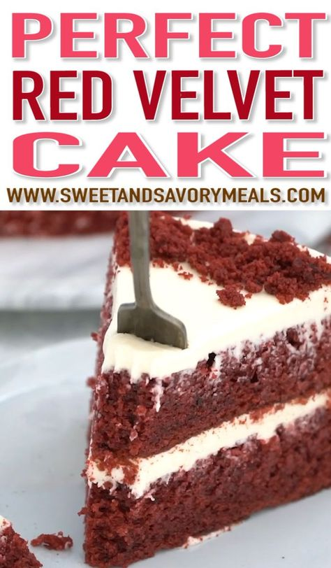 Photo of Red Velvet Cake (VIDEO) – Sweet and Savory Meals