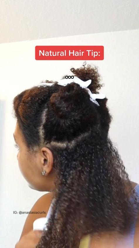 NATURAL HAIR TIPS!!