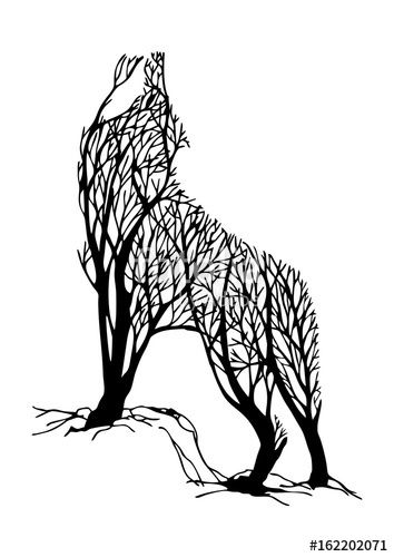 52 Best Tattoo Design Drawings Tattoo Design Drawings Wolf Silhouette Silhouette Tattoos