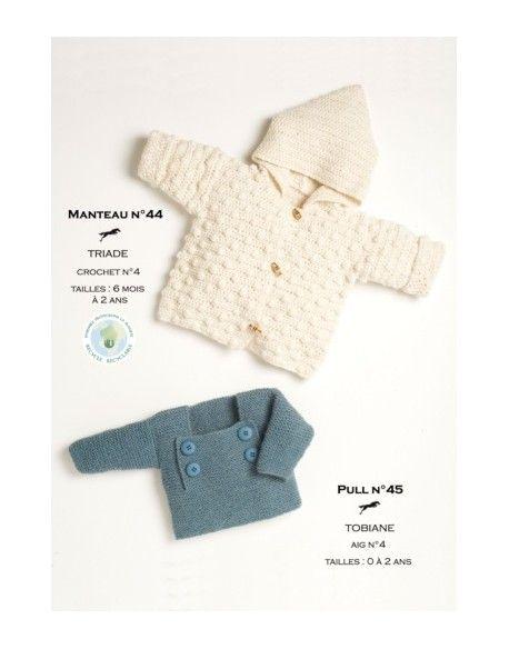Model coat - Free crochet and knitting pattern