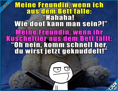 Das Kuscheltier steht an erster Stelle ^^  Lustige Sprüche / Lustige Bilder #Humor #Sprüche #lustig #1jux #lustigeSprüche #Jodel #lustigeBilder #Kuscheltier #Teddybär #Beziehung