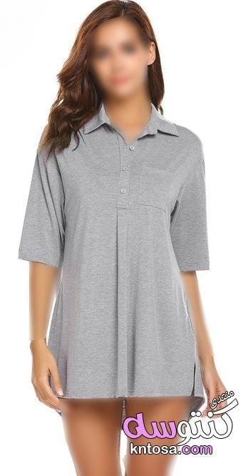قمصان نوم مثيرة قمصان نوم ناعمه قمصان نوم ستان للعرايس اجمل موديلات قمصان نوم ستان قصيرة 2019 Kntosa Com 28 19 155 Fashion Casual Casual Dress