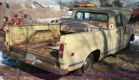 4600B.JPG - 1973 International Harvester truck, Model 1110, 54,801 miles, Inactive for approximately 10 years, S...